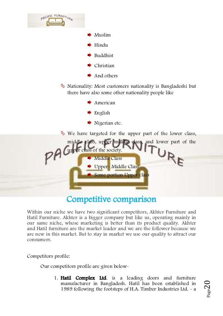 furniture dealership business plan