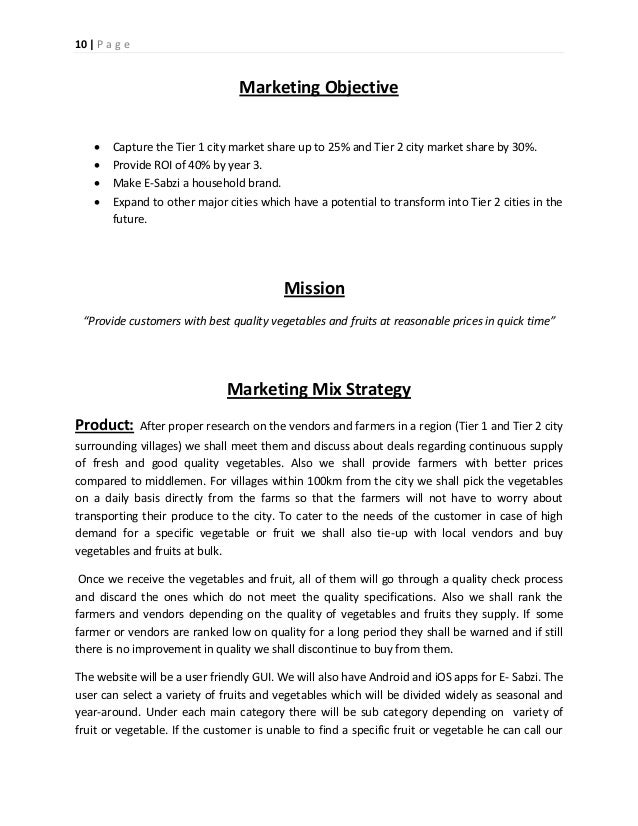 retailing business plan Business plan of a fruits& vegetables kiosk submitted by: arvind kumar jha(1206) gaurav gupta(1211) pankaj agarwal(1216) srijita dutta(1220) contents introduction in.