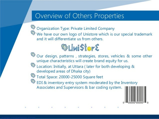 convenience store business plan ppt presentation