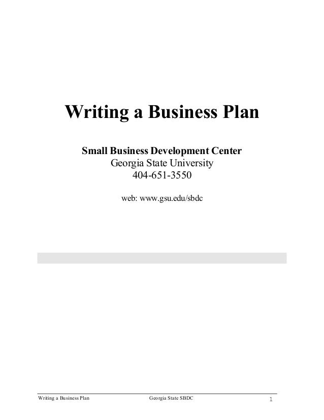 how to write a great business plan uk