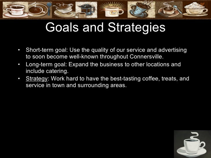 successful coffee shop business plan