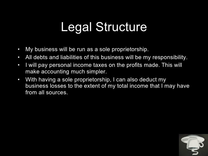 Business plan powerpoint 1 legal structure accmission Gallery