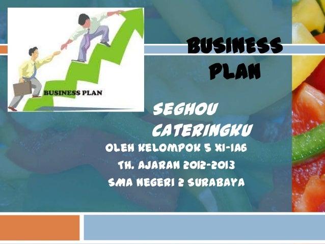 contoh presentasi business plan ppt samples