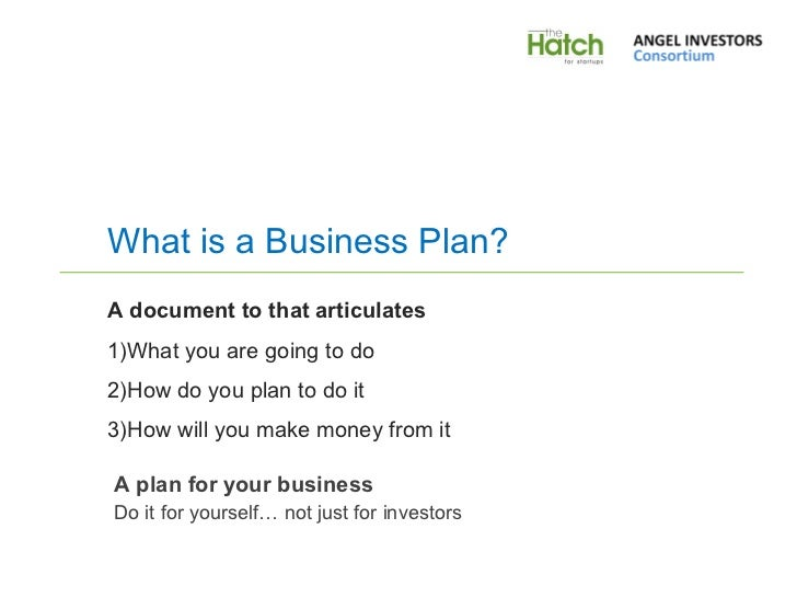 Business plan presentation template wajeb