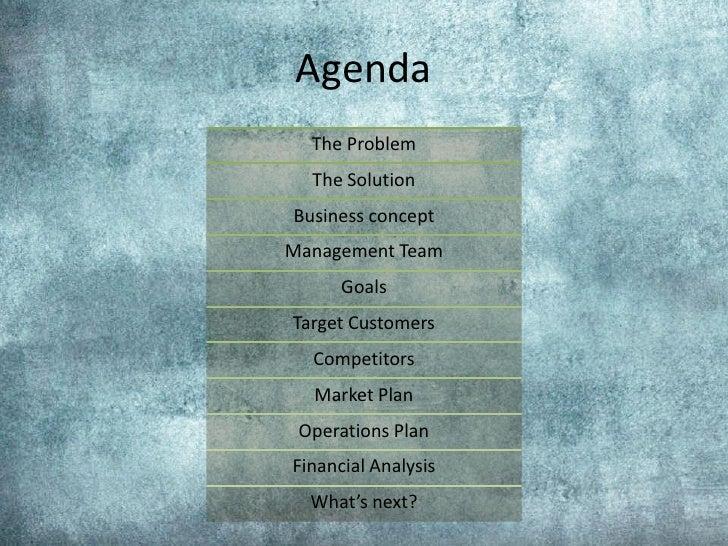 Business Plan (course project) Slide 2