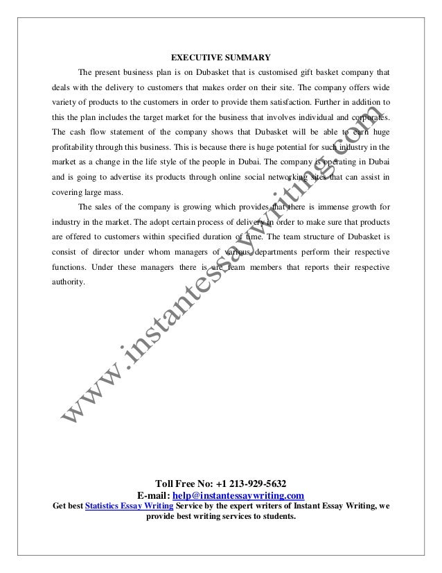 Sample Report On Business Plan By Instant Essay Writing Sample Report On Business Plan