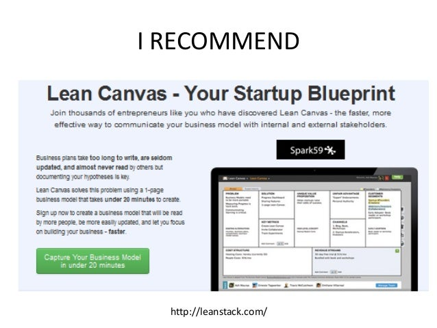 I RECOMMEND http://leanstack.com/