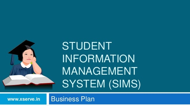 template for student management system - business plan student information management system