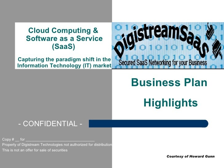 Cloud Computing &               Software as a Service                      (SaaS)          Capturing the paradigm shift in...