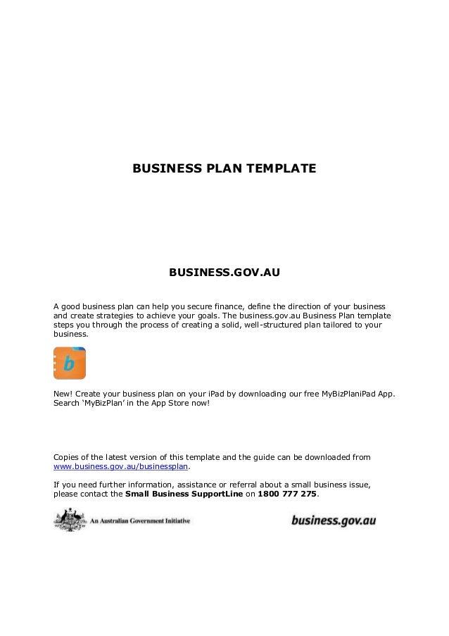 Business Plantemplate