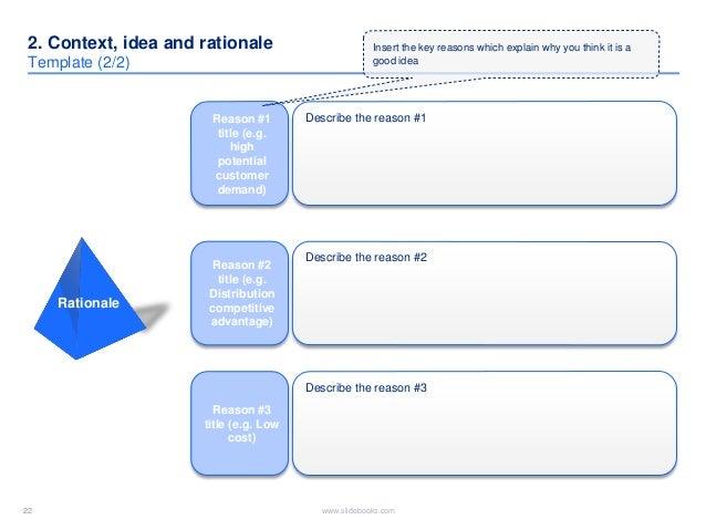 business idea template
