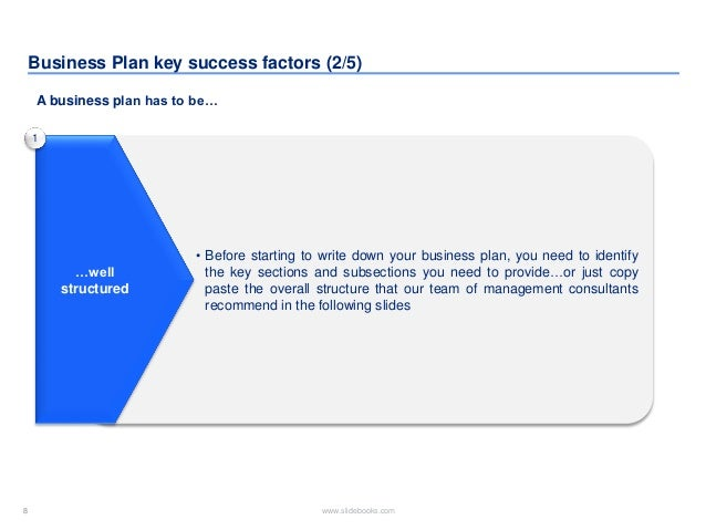 Business plan template created by former deloitte management consulta 8 flashek Images