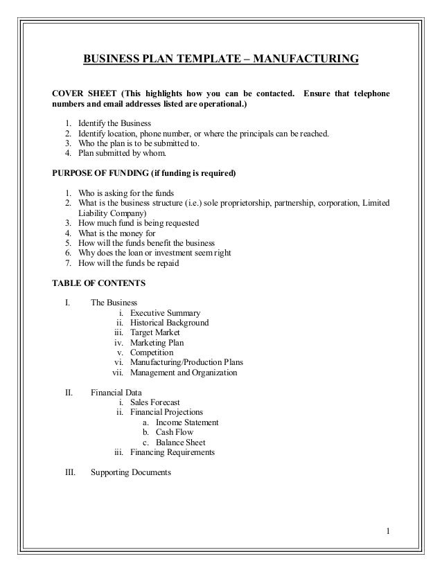 business plan template how to write your own business plan