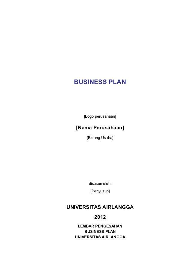 contoh business plan pmw