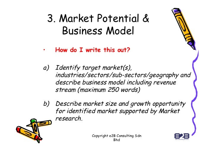 market potential business plan