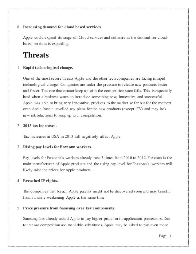 swot analysis of apple ipod Apple/ipod swot analysis profile additional information what is a swot  analysis it is a way of evaluating the strengths, weaknesses, opportunities, and .