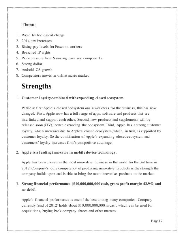 swot analysis of apple in india Air india swot analysis is covered on this page along with usp & competition it also includes air india's segmentation, targeting & positioning (stp) along with.