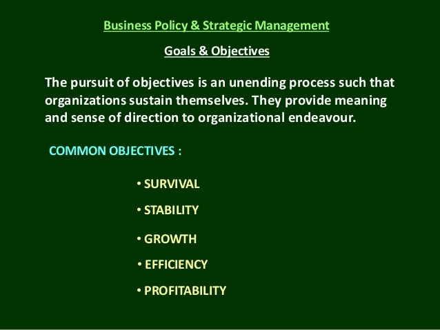 strategic management and business policy Free essay: master of business management semester iv mb0052 – strategic  management and business policy - 4credits (book id: b1314).