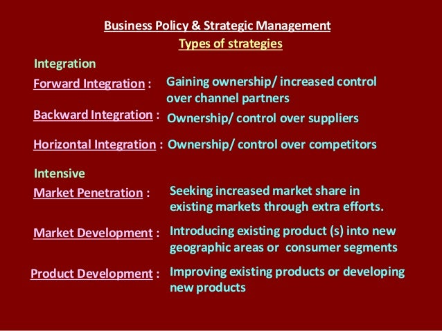 Business policy in an asian context