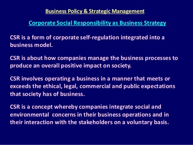Theories of corporate social responsibility management essay