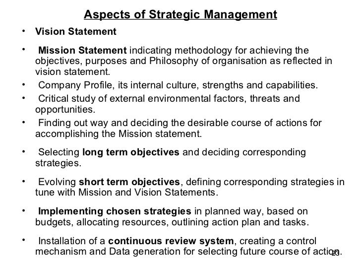 Business Policy Strategic Management For Mba