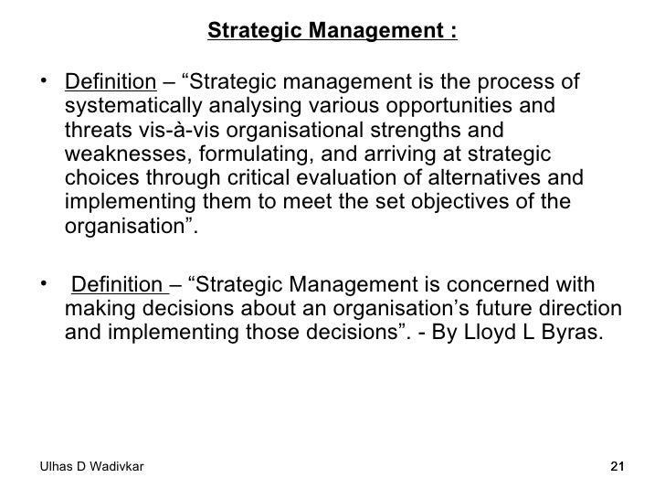management policy strategy essay Implementation is almost as important as the strategy  to strategic implementation is a great way to learn how  and removed from the management.