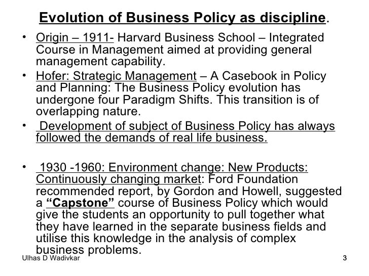 Business policy & strategic management  notes-2011-12 Slide 3