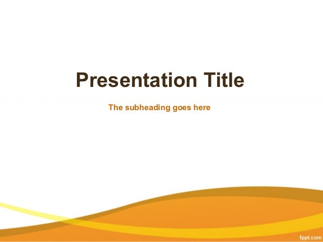 Business powerpoint presentation templates free business background presentation title the subheading goes here business powerpoint presentation templates free cheaphphosting Choice Image