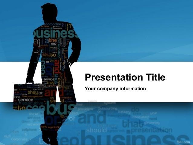 Business Cloud Powerpoint Template