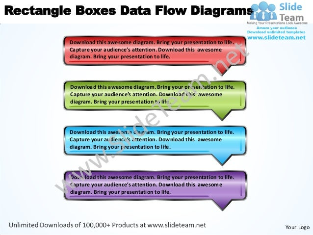 Business power point templates rectangle boxes data flow diagrams sal rectangle boxes data flow diagrams download this awesome diagram bring your presentation to life ccuart Images