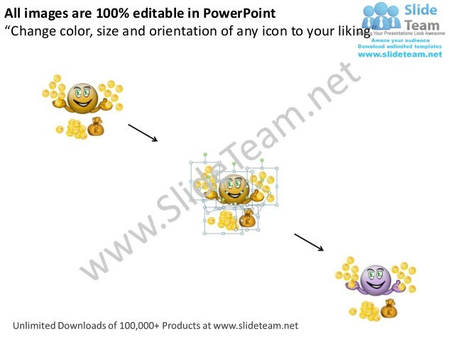 """All images are 100% editable in PowerPoint""""Change color, size and orientation of any icon to your liking"""""""