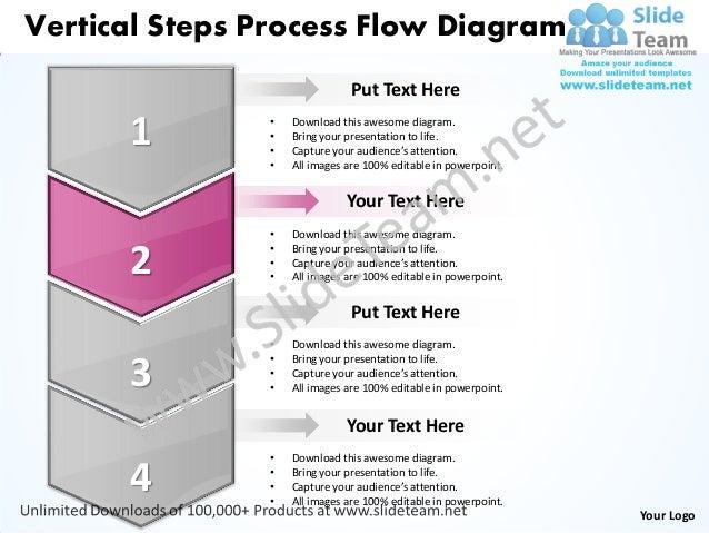 Business power point templates vertical steps process flow diagram sales ppt slides Slide 3