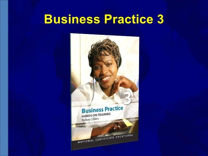 Business Practice 3