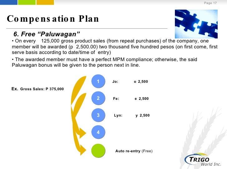 paluwagan business plan