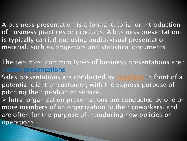 Business presentation Slide 2