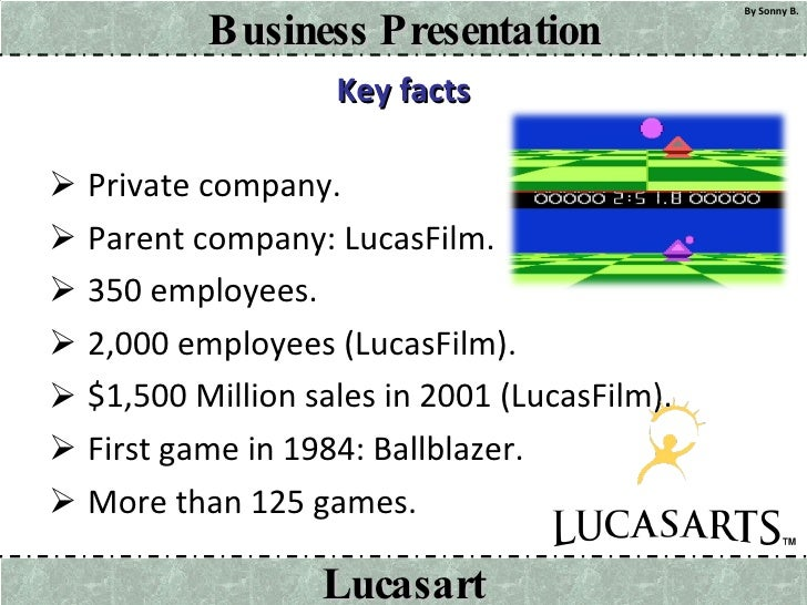 Key facts <ul><li>Private company. </li></ul><ul><li>Parent company: LucasFilm. </li></ul><ul><li>350 employees. </li></ul...