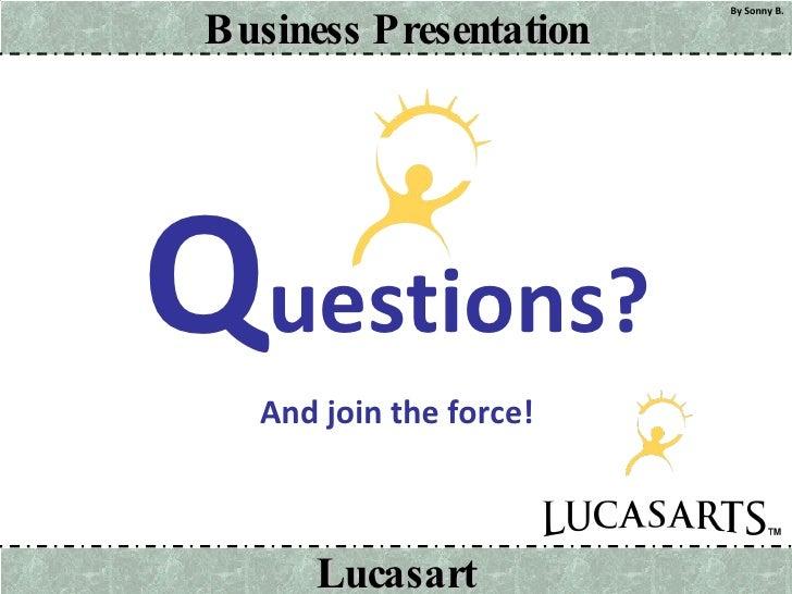 <ul><li>Q uestions? </li></ul><ul><li>And join the force! </li></ul>
