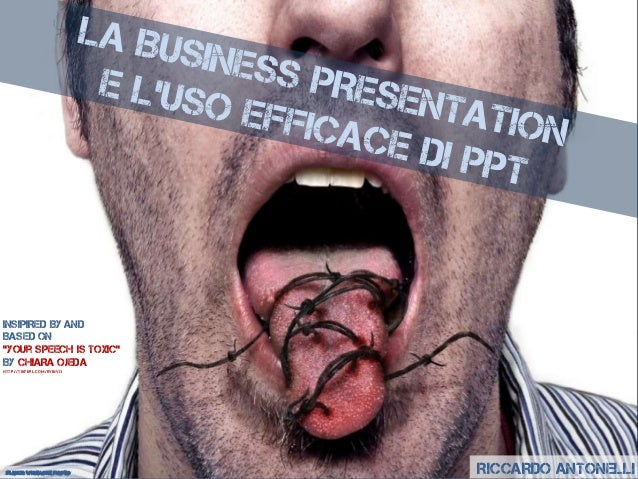 RICCARDO ANTONELLIFlickr: wiseacre photoINSIPIRED By ANDBASED ON''your SPEECH is toxic''BY CHIARA OJEDAhttp://tinyurl.com/...