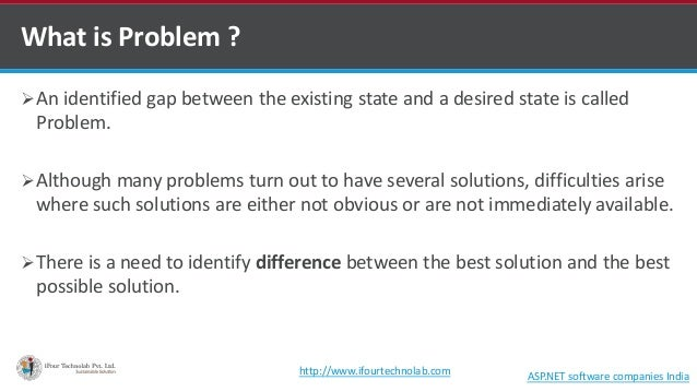 Business problems solved by ISO implementation - by software outsourcing company in India Slide 3