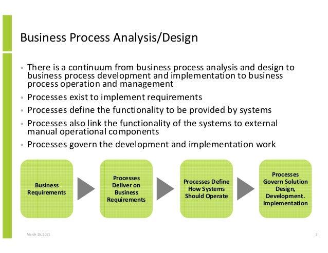 business process analyse