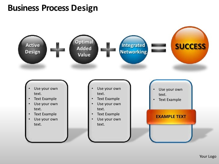 business process design powerpoint presentation templates. Black Bedroom Furniture Sets. Home Design Ideas