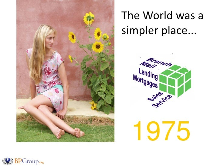 The World was a simpler place...      1975