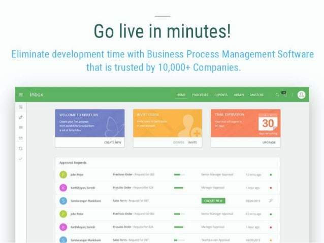 Go live in minutes! Eliminate development time with Business Process Management Software that is trusted by 10,000+ Compan...