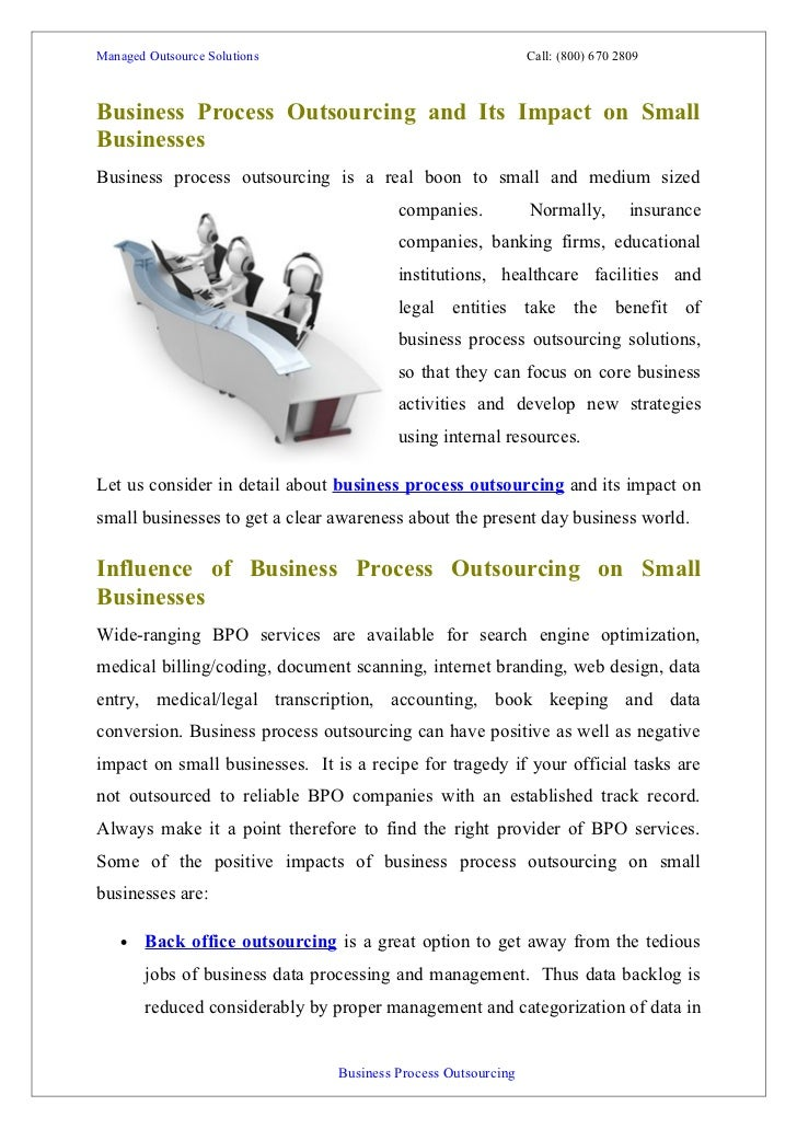 outsourcings and its effect on business essay This definition explains the meaning of business process outsourcing, also known as bpo, and explores its roots and benefits and risks across various industries.
