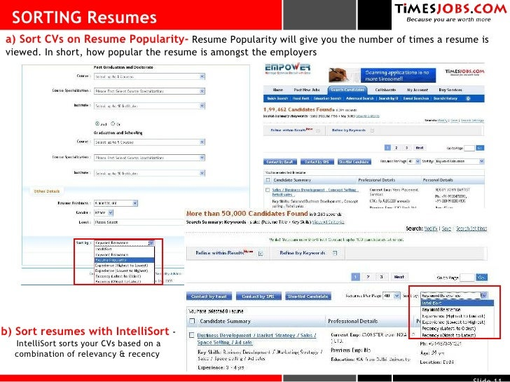 Timesjobs.com Services