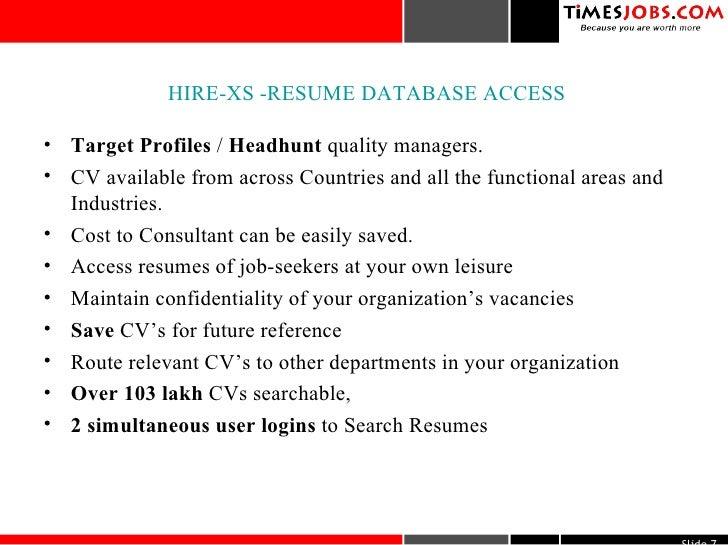 timesjobs com services