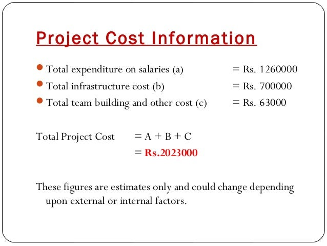 business proposal it project