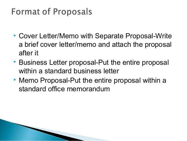 business proposal memo sample