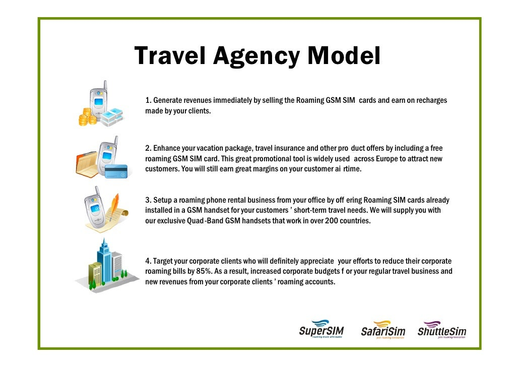 Proposal For Travel Agencies