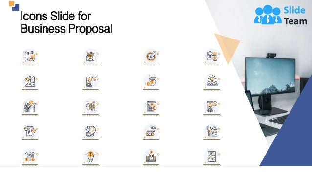Icons Slide for Business Proposal 23